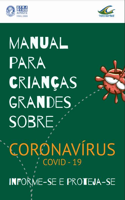 Manual para Crianças Grandes Sobre Coronavírus COVID-19